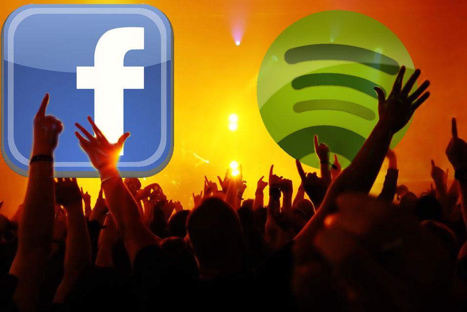 Facebook vil lage musikk-tjeneste