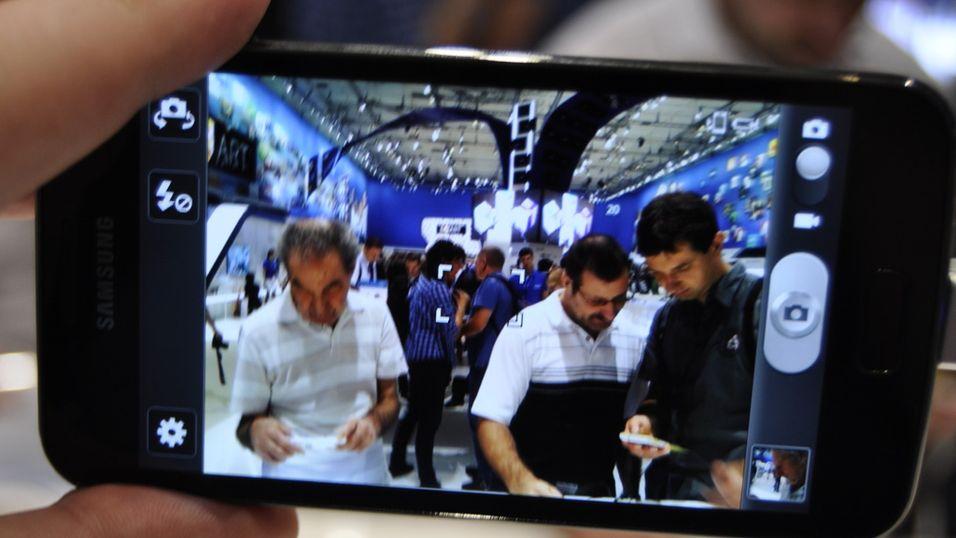 Vi testet Samsung Galaxy S II LTE da vi var på IFA-messen i Berlin.