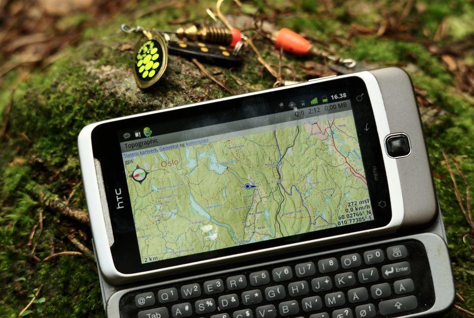 TEST: Norgeskart - App for navigasjon i skog og mark