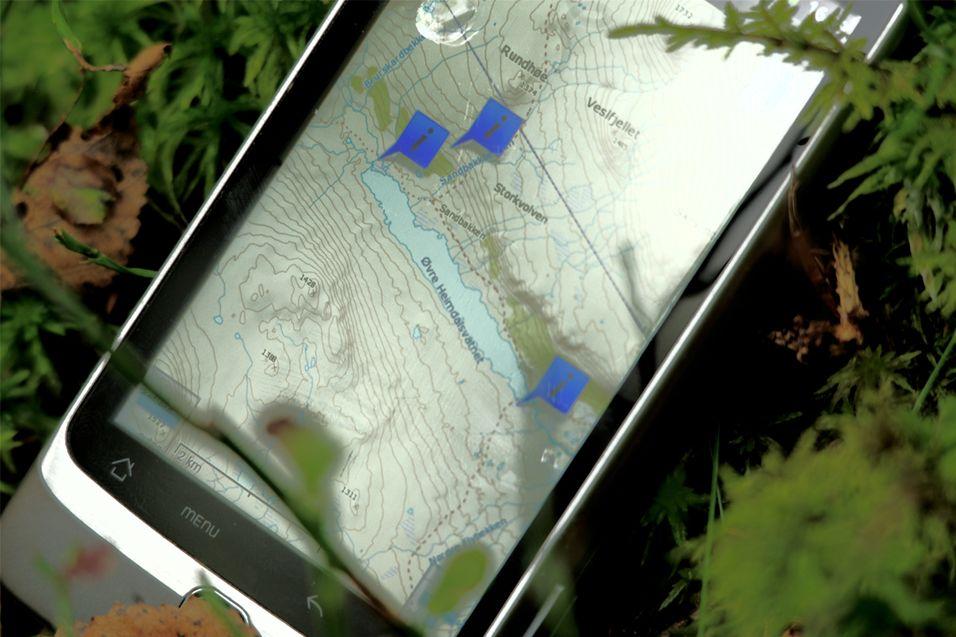 TEST: RMaps - App for navigasjon i skog og mark