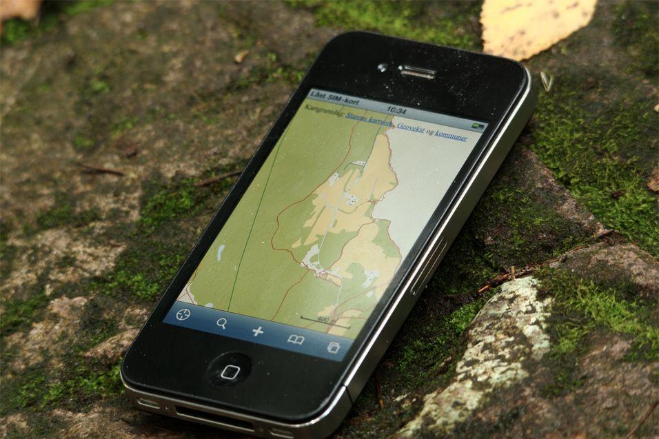 TEST: Navida - App for navigasjon i skog og mark