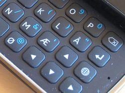 Norske taster og piltaster gjør tastaturet bedre enn på forgjengeren.