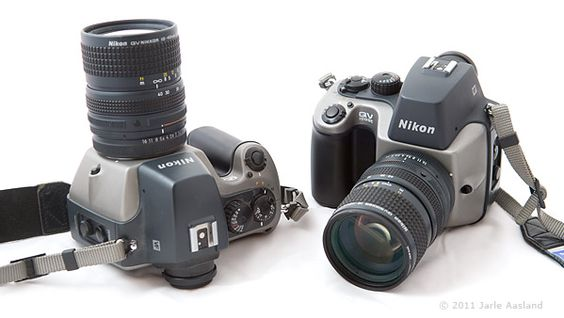 Sjeldent kamera: Ifølge Jarle Aasland finnes det sannsynligvis rundt 12-13 av disse kameraene i verden. Selv eier Aasland ikke bare et, men to kameraer av denne typen. Mest sannsynlig er han den eneste eieren av to stykker.