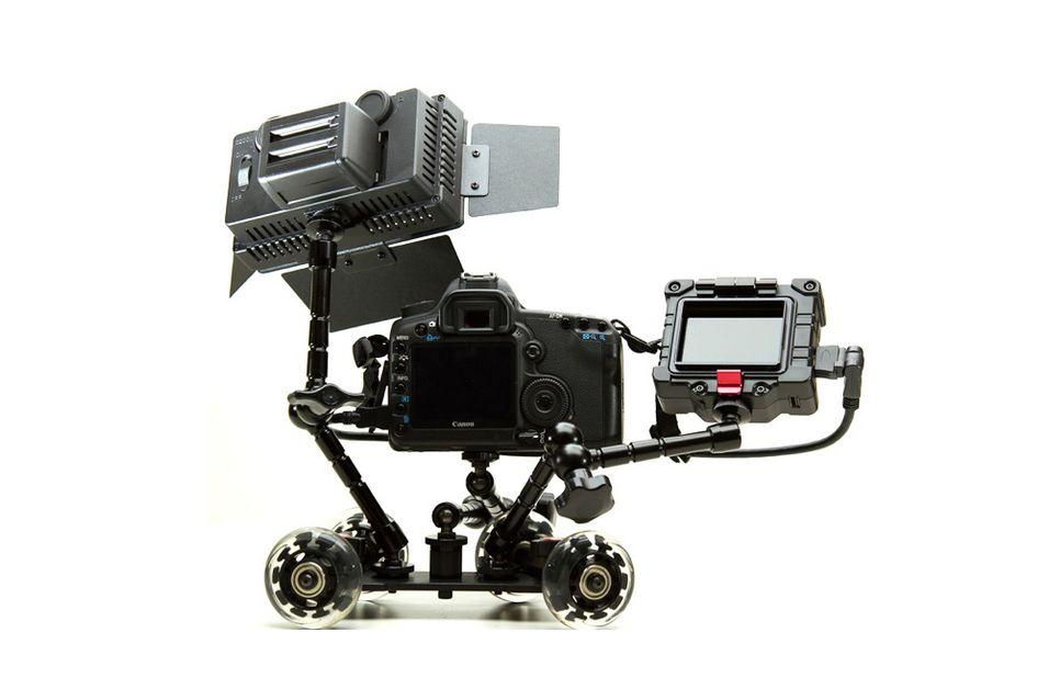 Mobilt kamerastativ gjør jobben