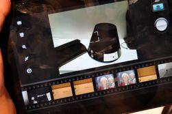 Kamera-appen i Tablet S ser slik ut.