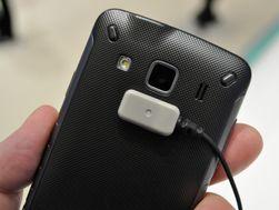 Kameraet i Galaxy Xcover har en oppløsning på 3,2 megapiksler, og mangler autofokus.