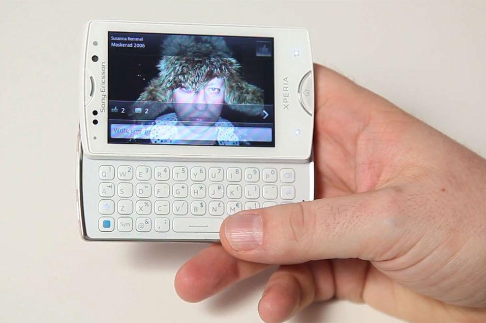 TEST: Sony Ericsson Xperia Mini Pro
