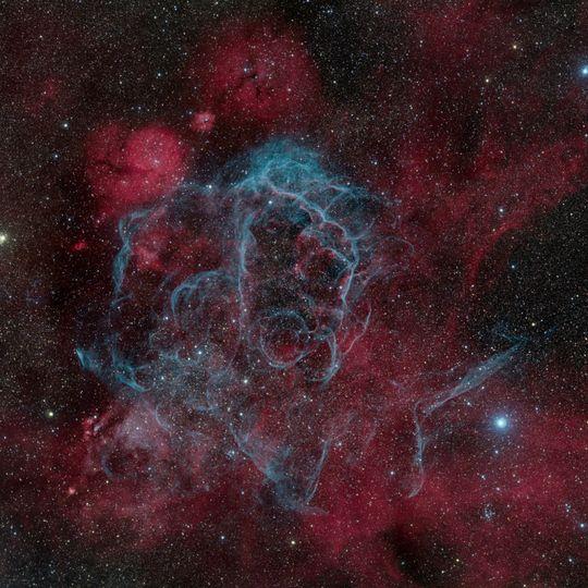 Italieneren Marco Lorenzi vant 1. plassen i kategorien Deep Space for bildet