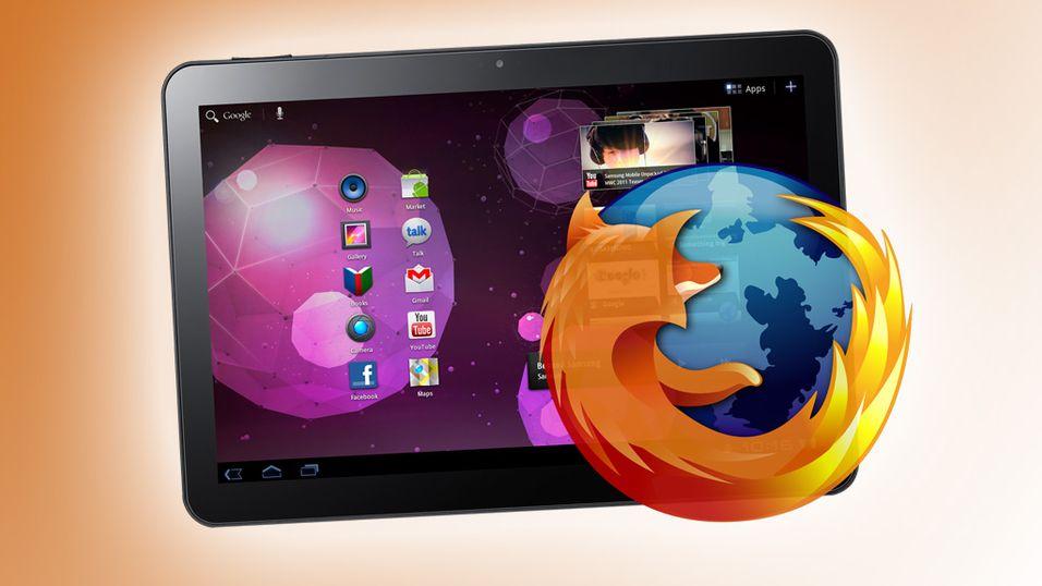 Mozilla er klar med en testversjon av Firefox for nettbrett.