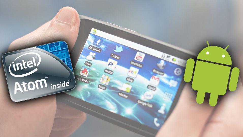 Snart kan Android kjøre på Atom