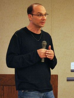 Android-sjef Andy Rubin fra en tidligere anledning (Foto: Yoichiro Akiyama)