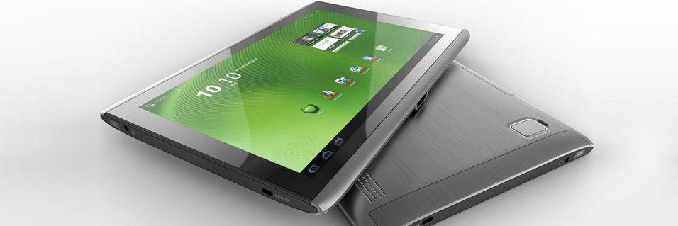 Android 4 snart klar til Acer-nettbrett
