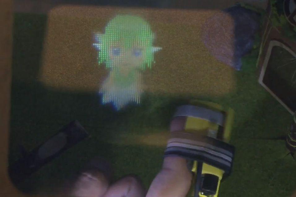Brillefri 3D-skjerm lar deg ta på 3D-figurene