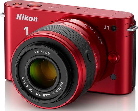 Nikon J1 med 30-110 mm