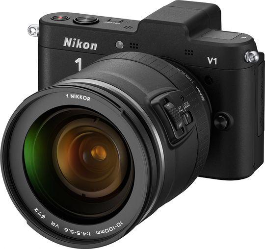 Nikon V1 med 10-100 mm