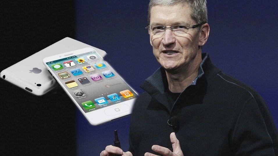 Denne gangen må Tim Cook klare seg uten Steve Jobs.