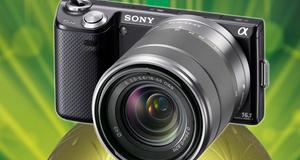 VINN: Sony NEX-5n med objektiv