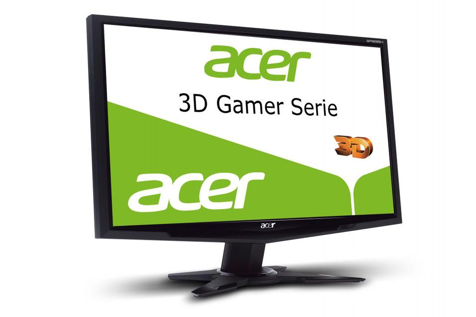 Acer med passiv 3D-skjerm for gamere