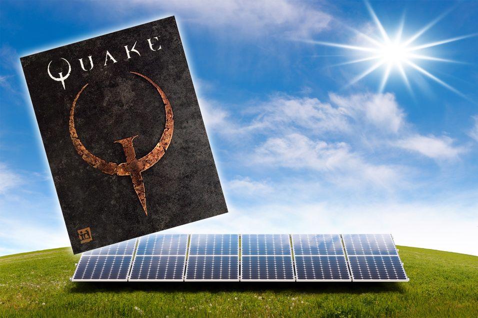 Intels prosessor klarte å kjøre Quake med hjelp av bare solenergi.