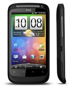 HTC Desire S: Buet glass som en vanndråpe, og gripekant nederst, som en frisbee.