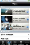 Aftenpostens videoinnhold
