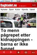 Dagbladets mobil-app