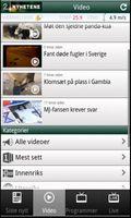 TV 2 Nyhetene viser artiklene som