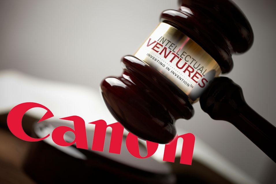 Canon saksøkes for patentbrudd