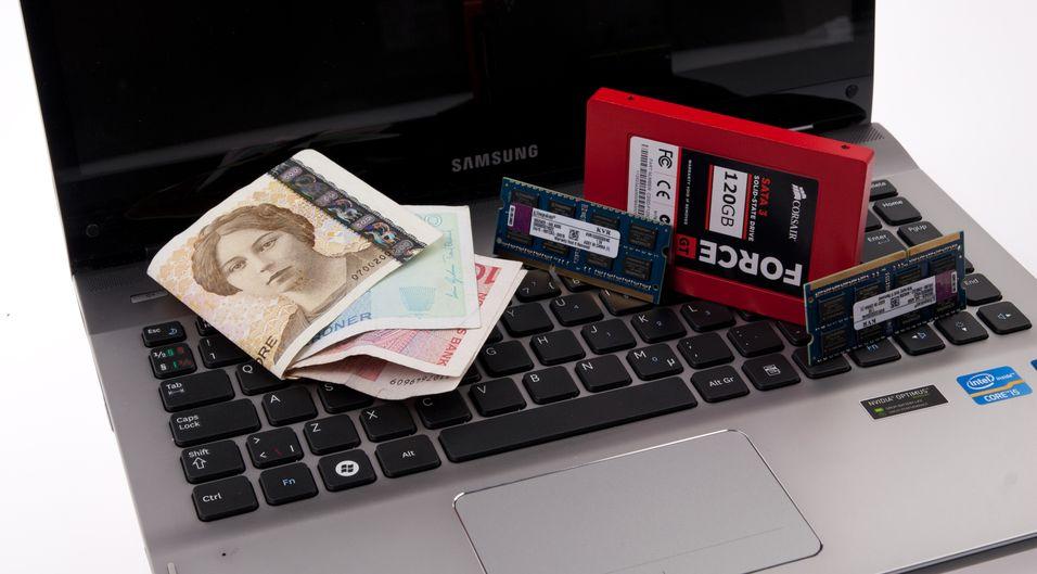 Mer minne og ny SSD kan du få for så lite som 800 kroner