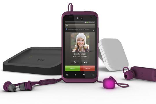 HTC Rhyme skal appellere til damene med frisk design og en lysende kube.