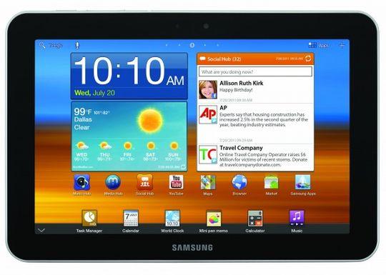 Samsung Galaxy Tab 8.9 er lillebror til Galaxy Tab 10.1.