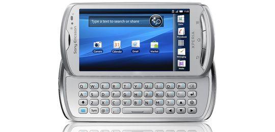 Sony Ericsson Xperia Pro er en Android-telefon med fulltastatur.