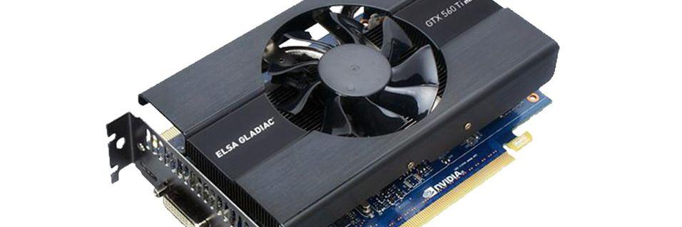 Kompakt GeForce GTX 560 Ti fra Elsa