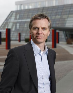 Svein-Henning Kirkeng, leder for privatmarked i Telenor Norge.