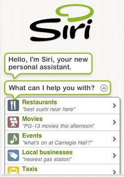 Tidligere i år kjøpte Apple opp selskapene bak Siri.