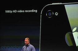 Kameraet skal være drastisk forbedret i nye iPhone 4S. (Foto: Engadget.com)