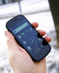 Slik ser dagens Nexus S ut. Nexus S ble lansert sammen med Android 2.3 Gingerbread.