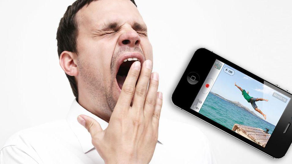– iPhone 4S skuffer