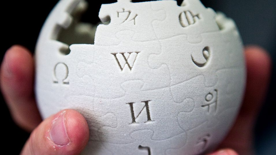 – Vi risikerer å måtte slette Wikipedia