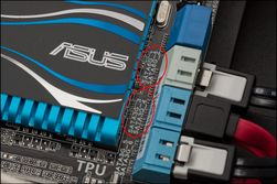 Hovedkortet kan ha både SATA 3 Gbit/s og 6 Gbit/s