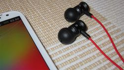Øreproppene gir god lyd, med har lett for å vase seg.