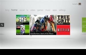 Skjermbilde fra Xbox Live