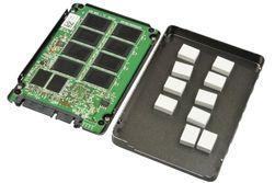 Plextor SSD på innsiden.