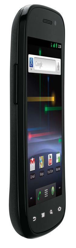 Dagens Nexus S kommer også fra Samsung. Her er det 4 tommer skjermstørrelse og langt svakere prosessor enn i dagens toppmodeller.