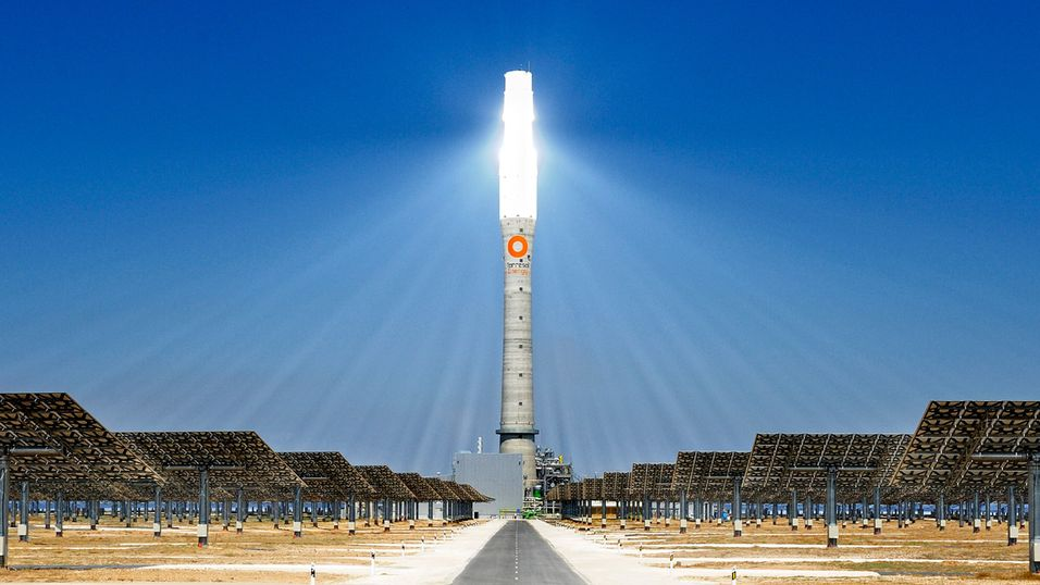 Solkraftverket Gemasolar. Foto: Torresol Energy