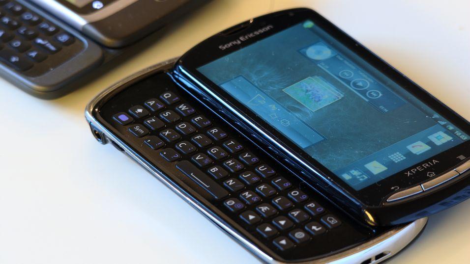 TEST: Sony Ericsson Xperia pro