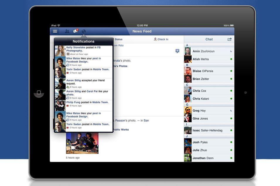 Nå er Facebook på iPad