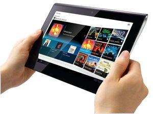 Sony Tablet S er utstyrt med en egen IR-sender som gjør det mulig å styre TV-er og annet utstyr direkte.