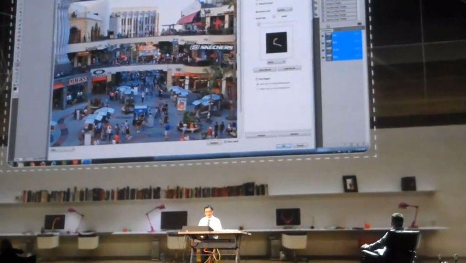 På sin MAX-konferanse viste Adobe fram en teknologi som gjør bilder som er uskarpe, om til bilder som har alle detaljene du mangler. (Faksimile fra YouTube)