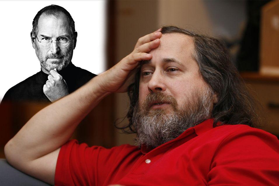 – Jeg er glad Steve Jobs er borte